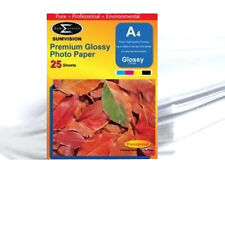Sumvision A4 Premium Inkjet Printer Photo Glossy Paper 135gsm 1000 Sheets Pack