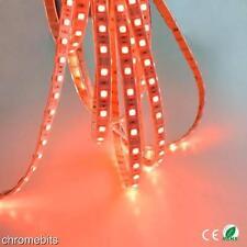 24v 5M RED LED 5050 SMD STRIP BRIGHT LIGHT WATERPROOF MARKER SCANIA ACTROS ATEGO