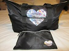 NEW VICTORIA'S SECRET FASHION SHOW LONDON 2014 TOTE TRAVEL BLACK WEEKEND BAG