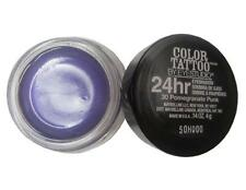 NEW Maybelline COLOR TATTOO 24 HR EYESHADOW 20 PAINTED PURPLE .14 Oz FULL SIZE