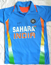 ROHIT SHARMA SIGNED REPLICA INDIA CRICKET ODI JERSEY SHIRT COA BRADMAN ASHES