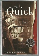 The Quick by Lauren Owen ARC Advance Reader's Edition PB