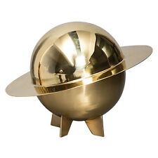Cosmic Diner Lunar Box Seletti - Large Brass Bowl - New In Box - Retail $400