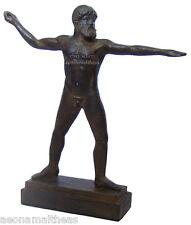 Zeus-thunder lighting pose-statuette de la suprême dieu grec - 24cm