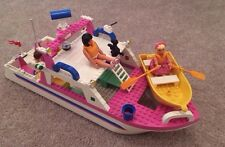 Lego Belville set 5848 RARE 1998 boat Water yacht Mini Figures Accessories Beach