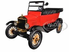 1925 FORD MODEL T TOURING RED 1:24 DIECAST MODEL CAR BY MOTORMAX 79328
