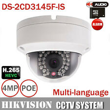 Hikvision DS-2CD3145F-IS Full HD 4MP Mini Dome POE IP CCTV Kamera Multi-Language