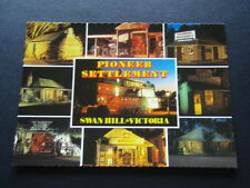 PIONEER SETTLEMENT SWAN HILL VICTORIA SOUND AND LIGHT TOUR POSTCARD
