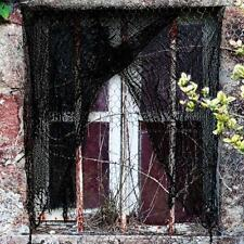Halloween curtain ~ Black Net ~  ~ Halloween Decoration ~ Haunted House