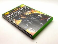 SOLDIER OF FORTUNE II DOUBLE HELIX FOR XBOX ~CHECK OUR OTHER GAMES FOR SALE~