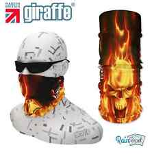 G287 Fire Balaclava Bandana Face Mask Neck Tube Scarf Snood Warmer headgear