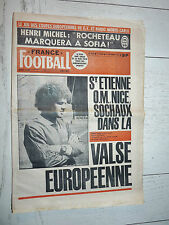 FRANCE FOOTBALL 1588 14/09 1976 EUROPE ASSE OM NICE SOCHAUX LACOMBE LYON OL