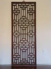 Large Chinese  Antique  Wood Panel  Wood Window 19c (A011)