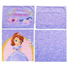 SOFIA THE FIRST  PRINCESS IN TRAINING - GIRLS SINGLE BED COMFORTER QUILT SET NEW
