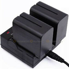 Dual Channel Battery Charger For SONY NP-FV100 FV70 FV50 FV30 FH100 FH70 FH50