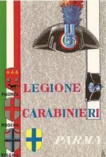 LEGIONE CARABINIERI PARMA (1) - Piacenza - Modena - Reggio Emilia. cart.anni '70