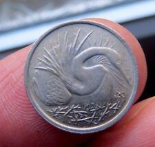 1970 Five Cents Singapore