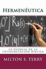 Hermenéutica : La Ciencia de la Interpretación de la Palabra de Dios by...