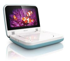 "PHILIPS PD7006B/05 7"" LCD KIDS BLUE PORTABLE DVD PLAYER DivX USB BARGAIN"
