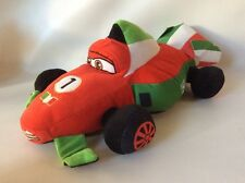 Disney Pixar Cars 2 Franchesco Ferrari Plush Toy Large 19""