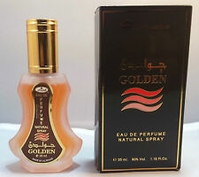 GOLDEN 35ml SUNRISE Profumo Spray / EAU DE PARFUM famoso al Rehab gamma