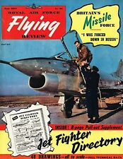 RAF FLYING REVIEW JUNE 57 FACSIMILE: JET FIGHTER DIR/ FW190A/ SKYWARRIOR CUTAWAY