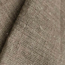 Fabric artist canvas 100% Linen flax Natural Undyed Unbleached 6.78 Oz W83 inch