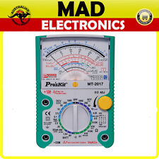 Pros Kit Analogue Multimeter With Transistor Test Continuity Tester