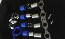 FORD XFLOW OHV DIY BIKE CARB / THROTTLE BODIES INLET MANIFOLD KIT 41mm PIPES