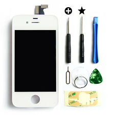 Replacement Glass LCD Touch Screen Digitizer Assembly OEM for iPhone 4S White