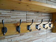 Wooden Coat Hook Rack Antique Style Coat Hooks With Shelf 16.5 Depth