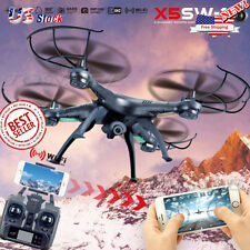 2017 X5SW-1 2.4Ghz 6-Axis Gyro RC Quadcopter Drone UAV RTF UFO with HD Camera US