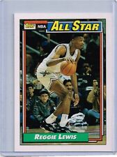 1992-1993 REGGIE LEWIS TOPPS ALL-STAR BASKETBALL CARD # 104