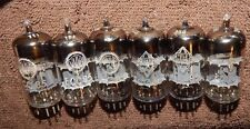 6 PIECES AUDIOPHILE TUBES TELEFUNKEN <> ECC85 / 6AQ8 VALVO GERMANY MADE PREMIUM