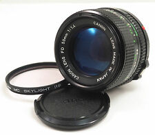 Canon NEW FD NFD 50mm f/1.4 Lens in Near Mint condition!