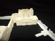Z Scale Alamo FULL Fort building Scale model Resin Kit Unpainted works with 6mm