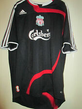 Liverpool 2007-2008 Away Football Shirt Size LArge /39865