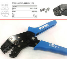 uninsulated tab terminal 1.4-1.5mm² 26-16 AWG Cables Crimping tool Pliers SN-48B