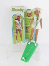 Dusty Vintage Kenner Fashion Doll Tennis Set in Orig Box,Outfit,Stand,Ball