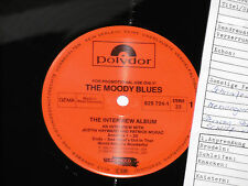 THE MOODY BLUES -The Interview Album- LP 1986 Polydor Archiv-Copy mint