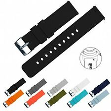 BARTON Quick Release Watch Band Strap Width 22mm Black