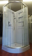 NEW SHOWER SCREEN ENCLOSURE BATHROOM CUBICLE - a2002s