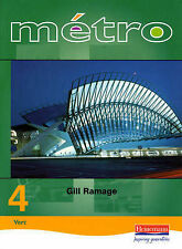 Metro 4: Foundation: Student Book (Metro for Key Stage 4), Gill Ramage