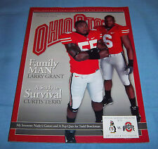 Ohio State vs Youngstown State Game Program Magazine 2007 Terry & Grant