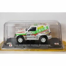 DEL PRADO 1:43 RC007 MITSUBUSHI PAJERO EVOLUTION PARIS - DAKAR 1998 2ND KENJIRO