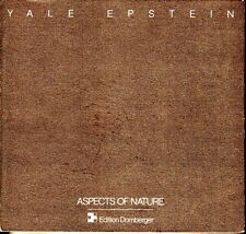 Yale Epstein Aspects of Nature 1965-1990 Edition Domberger Art Catalog