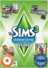 The Sims 3 Outdoor Living Stuff (Mac&PC, 2011) Origin Download Region Free