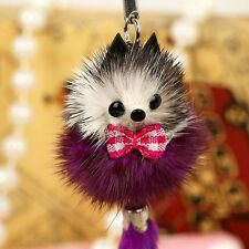 Cute Soft Fox Animal Phone Car Keychain Pendant Handbag Charm Key Ring Chain NEW