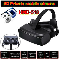 HMD-518 Virtual Reality 3D Video Glasses Eyewear Smart Private Mobile Theater