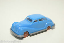 PLASTIC WEST GERMANY BMW 501 SALOON BLUE EXCELLENT CONDITION RARE